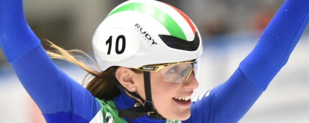 Coppa del Mondo, Valcepina domina i 500 metri di short track