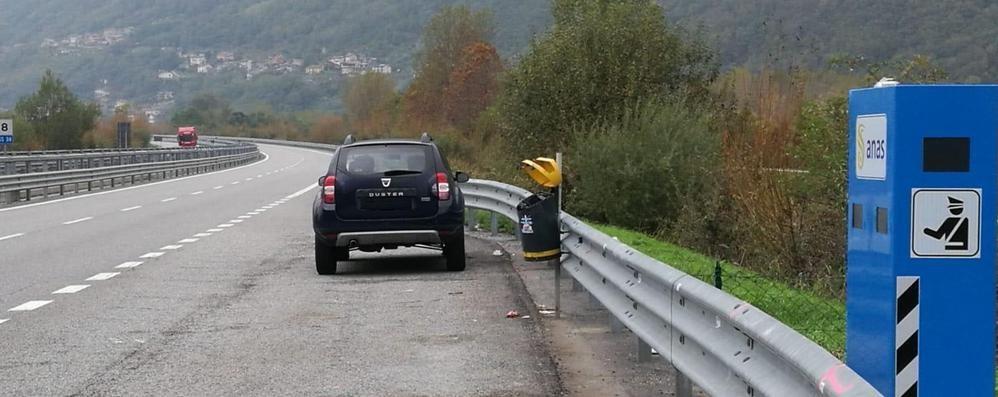 Sulla statale 38 c'è il primo autovelox  Ma per adesso non si rischiano multe