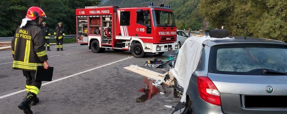Ardenno, incidente mortale sulla statale 38