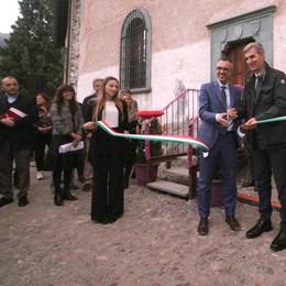 """Inaugurato il """"Cast"""": «Sondrio diventa il cuore delle Alpi»"""