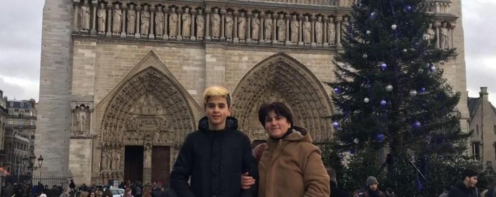 Un tragico destino, Matteo e la mamma per sempre insieme