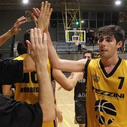 Basket serie C Silver, Pezzini travolgente contro Varedo