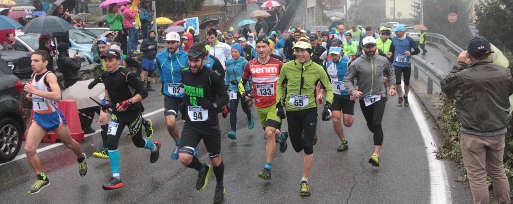 Corsa in montagna, la carica dei 150 allo SLAlom alle Piramidi