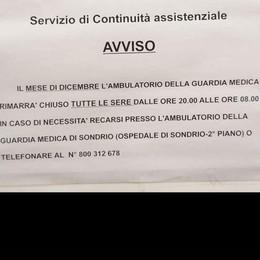 Niente guardia medica durante la notte  «I malenchi hanno diritto all'assistenza»