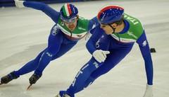 Short track, avvio alla grande per gli azzurri a Montreal