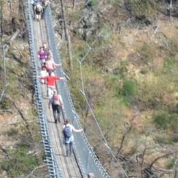 """Campodolcino avrà il ponte tibetano  E la ciclabile a Prata """"salta"""" lo Schiesone"""