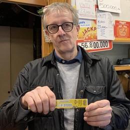 Erba, il biglietto da 500 mila euro  venduto alla tabaccheria di piazza Rovere