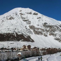 Valanga in Valtellina  Paura ma nessun ferito