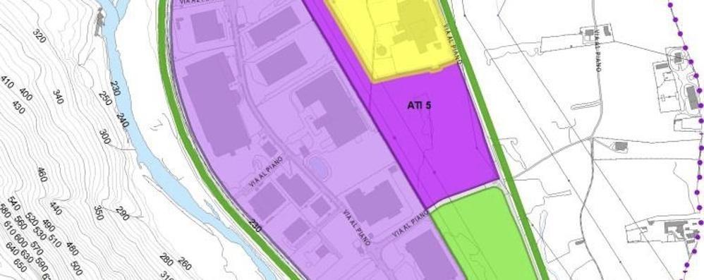 Area industriale, Gordona ci ripensa  «Nessuna espansione verso Nord»