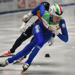 Short track, strepitosa Valcepina cala il tris sui 500 metri