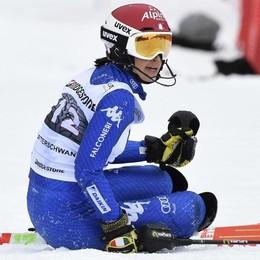 Mondiali sci alpino, sfuma nella prima manche il sogno della Curtoni
