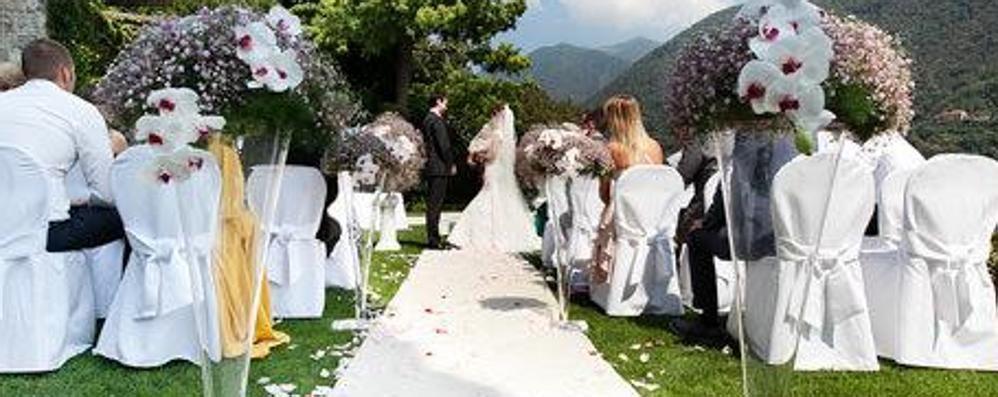 Diecimila abitanti, 25 matrimoni  «A Olgiate ci si sposa sempre di meno»