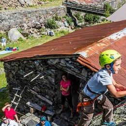 Nuova prospettiva per la Val Gerola  Dopo trekking e sci, apre all'arrampicata