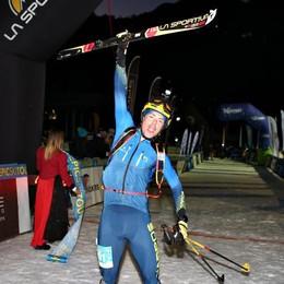 Scialpinismo, Boscacci trionfa nella classica in Trentino