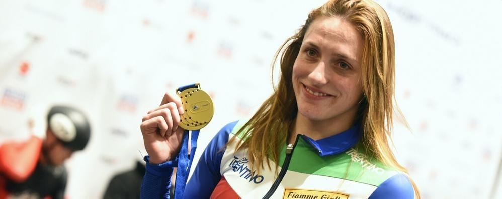 Short track, fantastica Valcepina è oro sui 500 metri