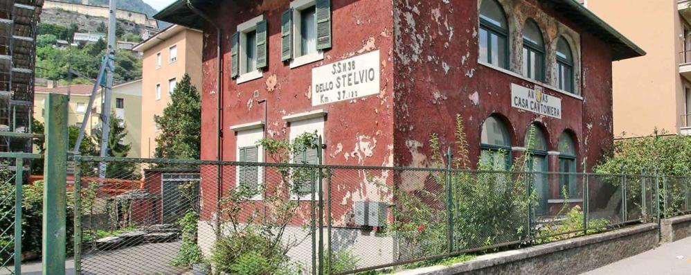 Sondrio, la casa cantoniera nuova sede degli alpini: manca un via libera