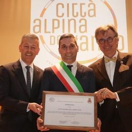 «Città alpina, orgogliosi di questo titolo»