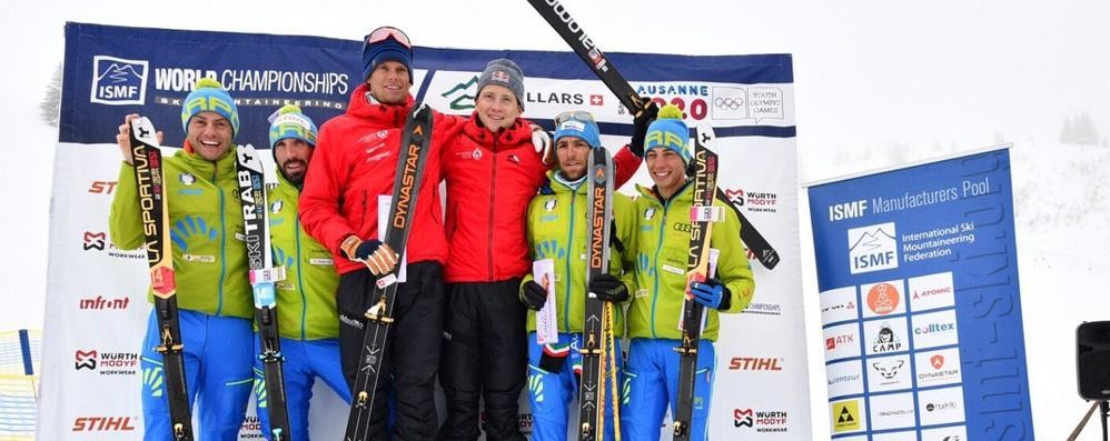 Scialpinismo, argento mondiale per Boscacci e Antonioli nella gara a squadre