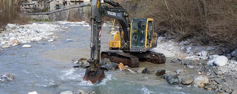 Acquedotto antico scoperto a Piuro, previsto uno studio
