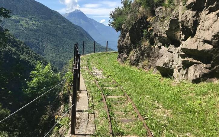 Tracciolino in sicurezza: riaperto  Pacchia per trekking e mountain bike