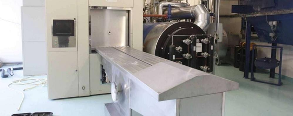 Impianto di Albosaggia: in un anno 5.600 cremazioni