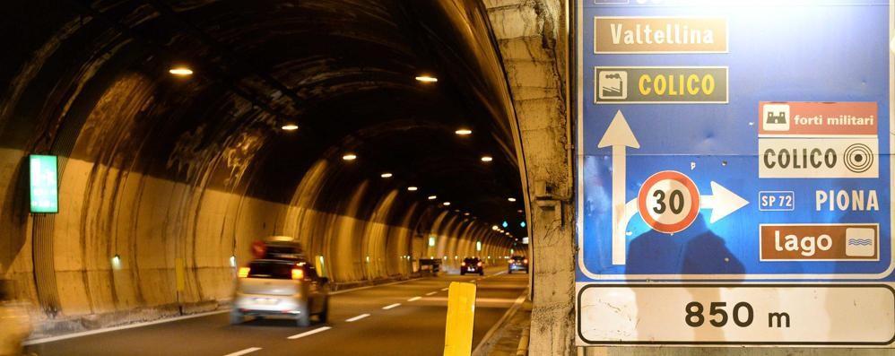 Galleria Monte Piazzo instabile  «Pensiamo a un nuovo tunnel»