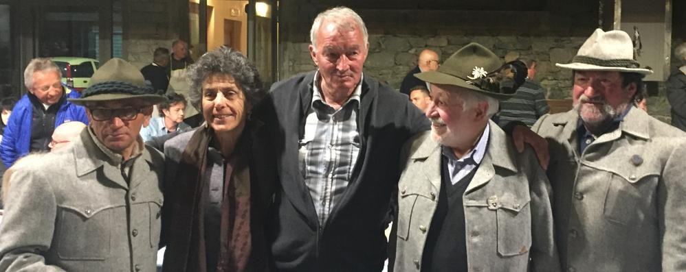 Partì nel '46, festa a Spriana per Robert
