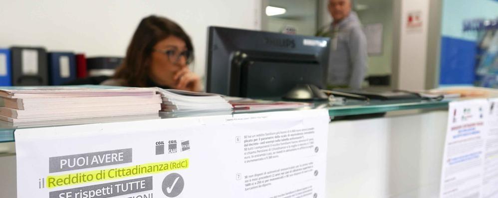 Reddito di cittadinanza in provincia di Sondrio, per ora almeno 500 richieste