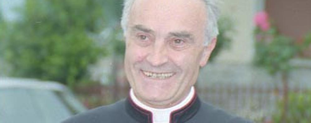 A Tirano l'addio a monsignor Garbellini