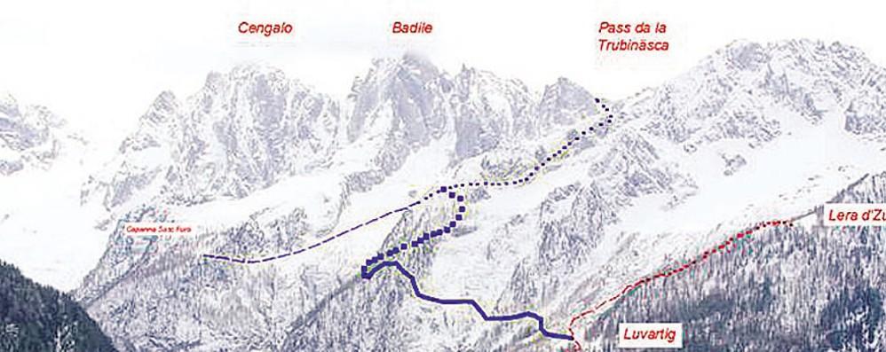 Nuovo sentiero in Bregaglia Sorride anche la Val Masino