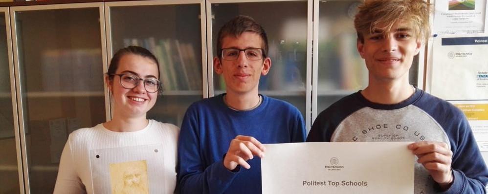 Gli studenti dell'Itis Mattei premiati come i migliori in Italia