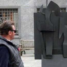 Sondrio, Righini porta l'arte in strada