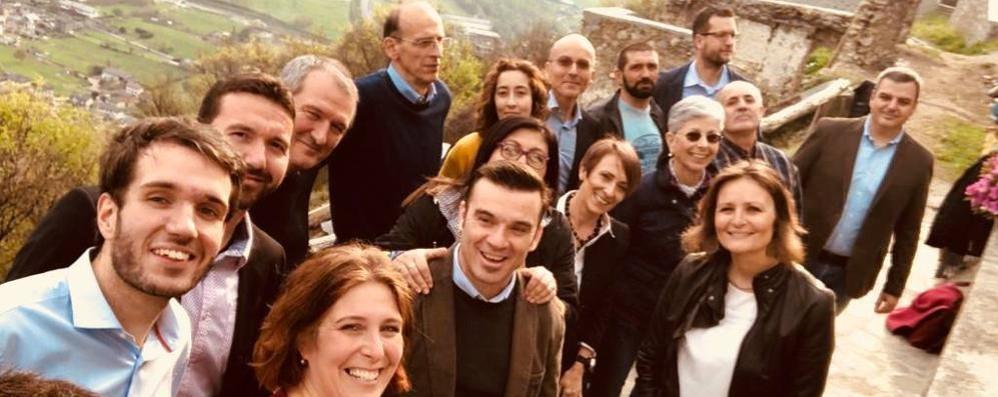 Morbegno verso il voto, i nomi di Ruggeri e la squadra di Gavazzi