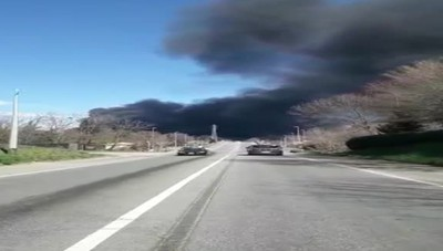Mariano incendio discarica 2