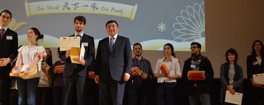 Primo in Italia per il cinese. Il sindaco di Ardenno: «Siamo fieri di te»
