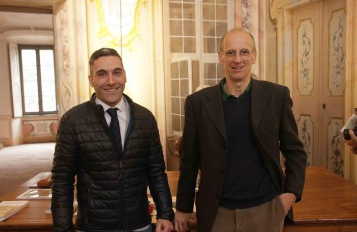 I candidati sindaco Andrea Ruggeri e Alberto Gavazzi