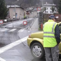 Massi caduti e allerta, Val Masino e Morbegno corrono subito ai ripari