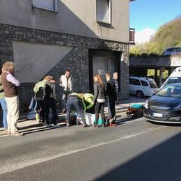 Villa di Chiavenna, uomo anziano investito sulla statale 37: è grave