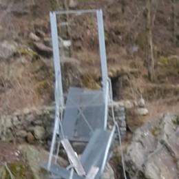 Danni sul Tracciolino, anche il ponte adesso è ko
