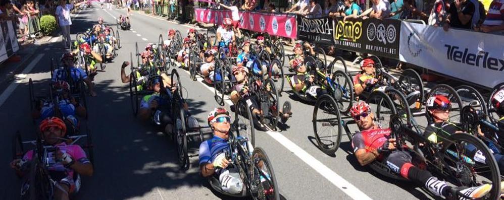 Handbike, il Giro d'Italia a Tirano  «Sarà certo un grande spettacolo»