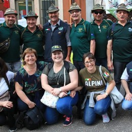 Dalla Valtellina sono 1500 gli alpini presenti a Milano