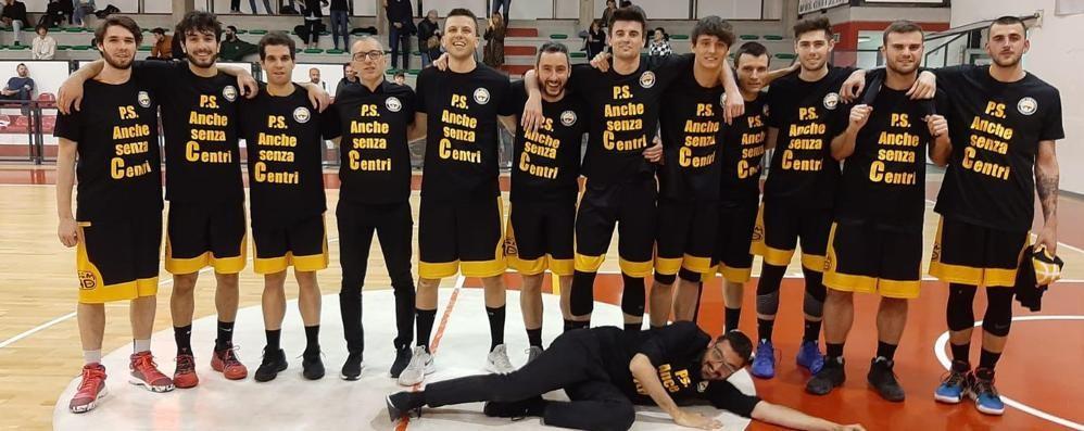 Basket serie C, coach Ronconi ripercorre la stagione culminata con la salvezza