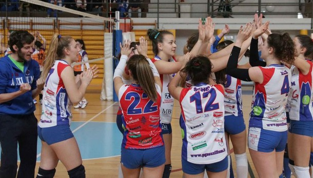 Volley, l'Auxilium fa il bis in Seconda Divisione