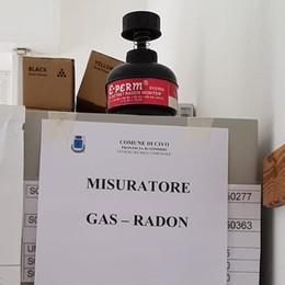 Civo, misuratori del radon in municipio e nelle scuole
