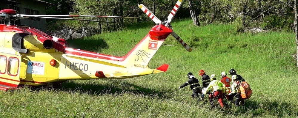 Morta l'escursionista caduta Aveva 46 anni, tragedia in Valle Intelvi