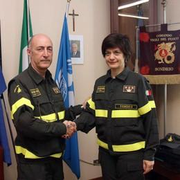 Sondrio, è Pappalardo il nuovo comandante dei vigili del fuoco
