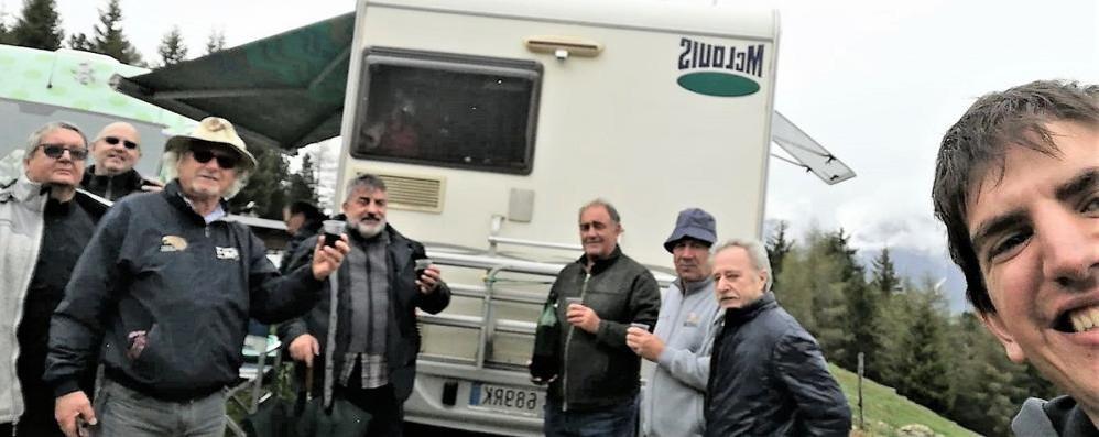 Sondrio, dal bar Piero destinazione passo: «Che giornata al Giro»