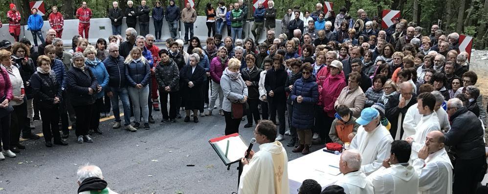 Frana di Gallivaggio, un anno dopo  In processione per non dimenticare