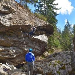 Gerolasass pronta al debutto  Nuovo evento per i climber