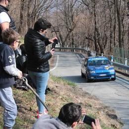 Rally del Pizzocchero, Gianesini cerca la rimonta su Tosini
